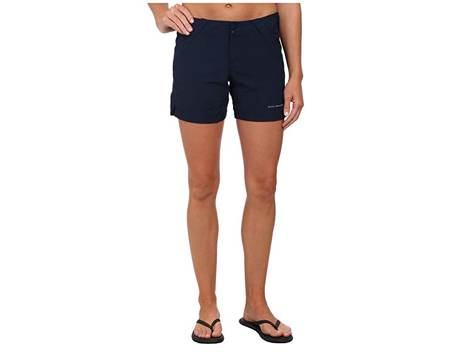 Columbia Coral Pointtm II Short Collegiate Navy Womens Shorts Stay cool and comfortable the next time youre reeling in a trophy haul when you ship out in the Coral Point...