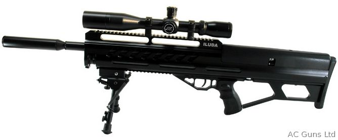 Power 12 ft lbs or FAC Cocking Sid-lever Weight 4 1kg Barrel Length