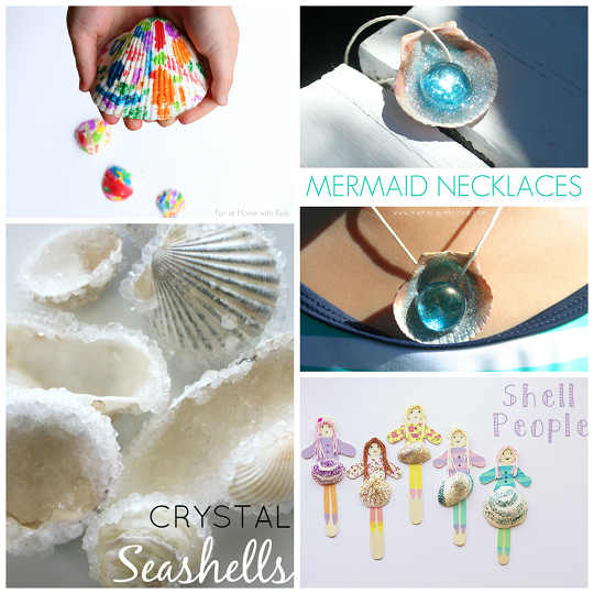 Adorable Seashell Craft Ideas For Kids Crafty Morning Shell