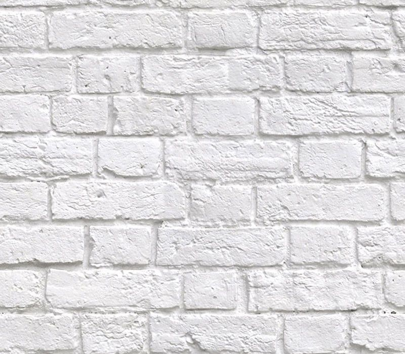 White Brick Wallpaper on Pinterest