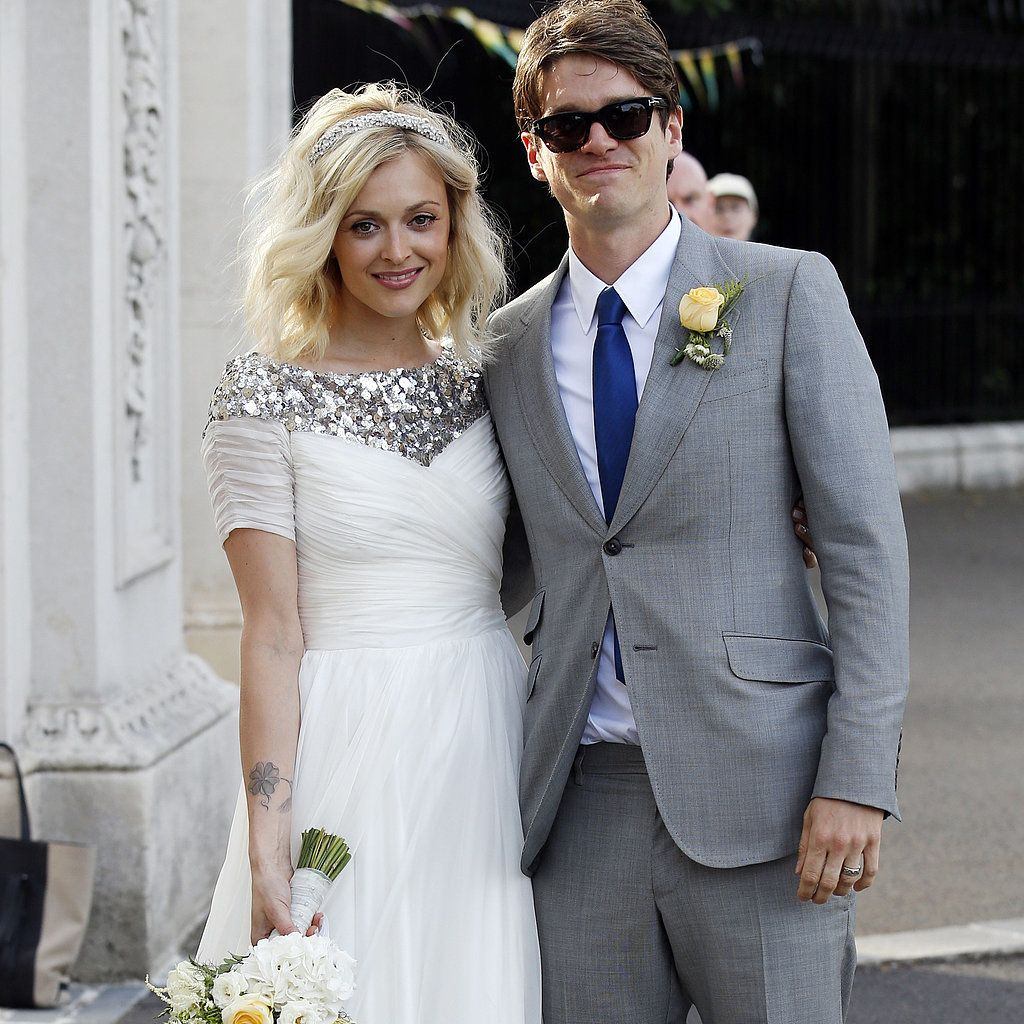The Popular Style of the Celebrity Wedding Dresses : Fearne Cotton ...