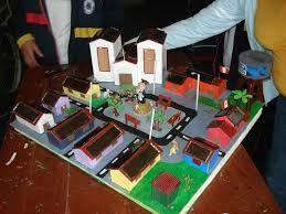 Resultado De Imagen Para Maquetas Escolares De Una Ciudad