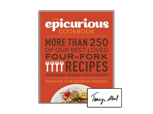 If you pre-order a copy of The Epicurious Cookbook now, you will receive an autographed--and discounted--copy when it publishes 10/30.