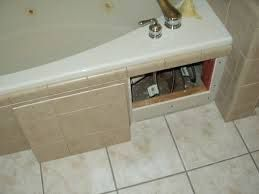 How To Build An Access Door Under A Bath Google Search Access Panels Tub Tile Tub Surround