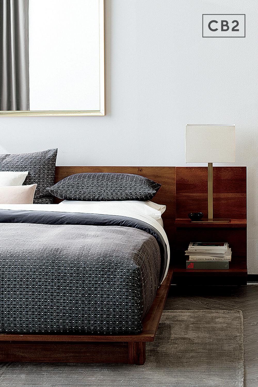 Andes Acacia Platform Bed Reviews Cb2 In 2021 Master Bedroom Design Master Bedrooms Decor Bedroom Trends
