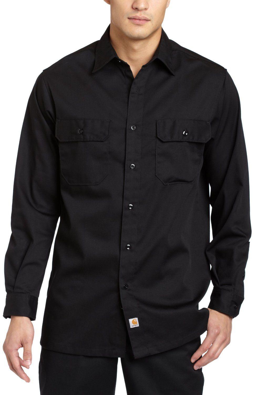 c22c9bed black button up shirt | Clothes | Black button up shirt, Work shirts ...