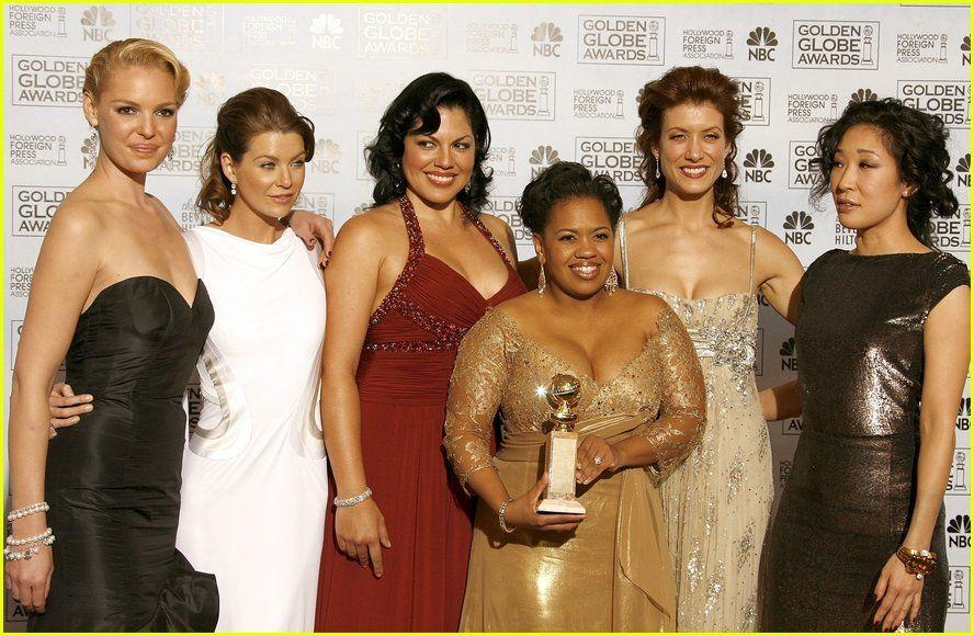 Greys Anatomy Cast Greys Anatomy Golden Globes 2007 Greys