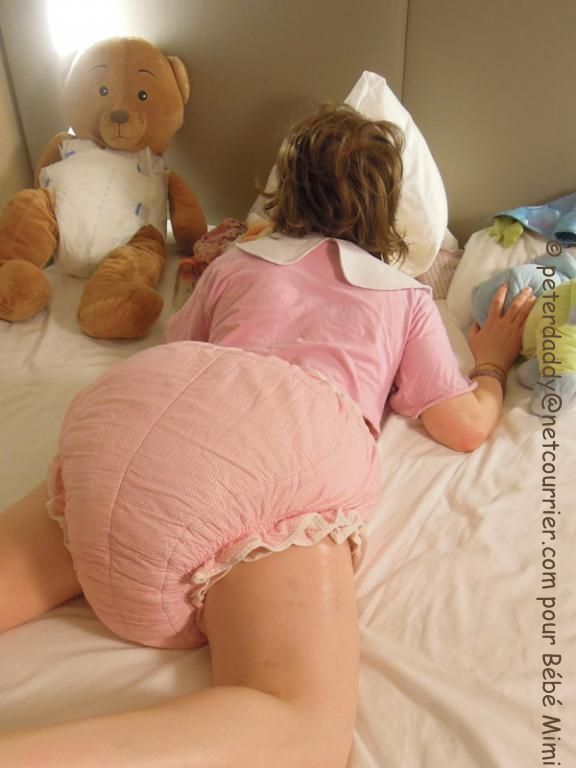 Girl In Thick Diaper