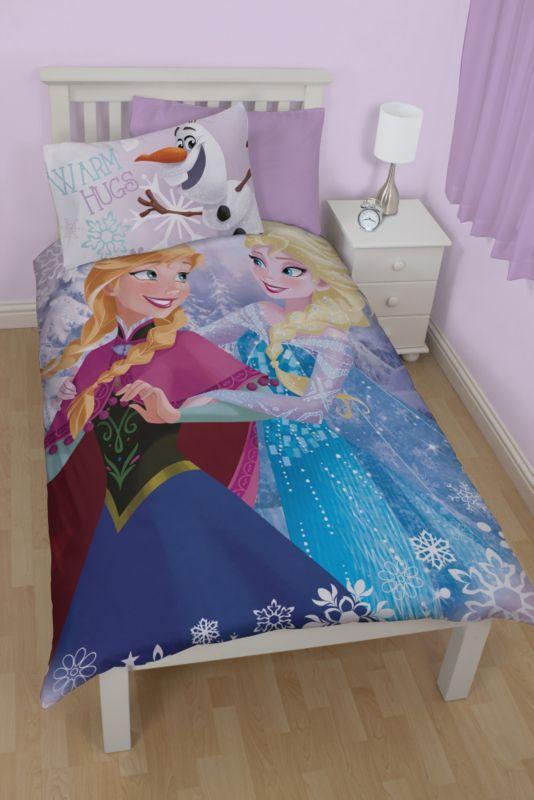 Disney Frozen Single Duvet Set Kids Asda Direct