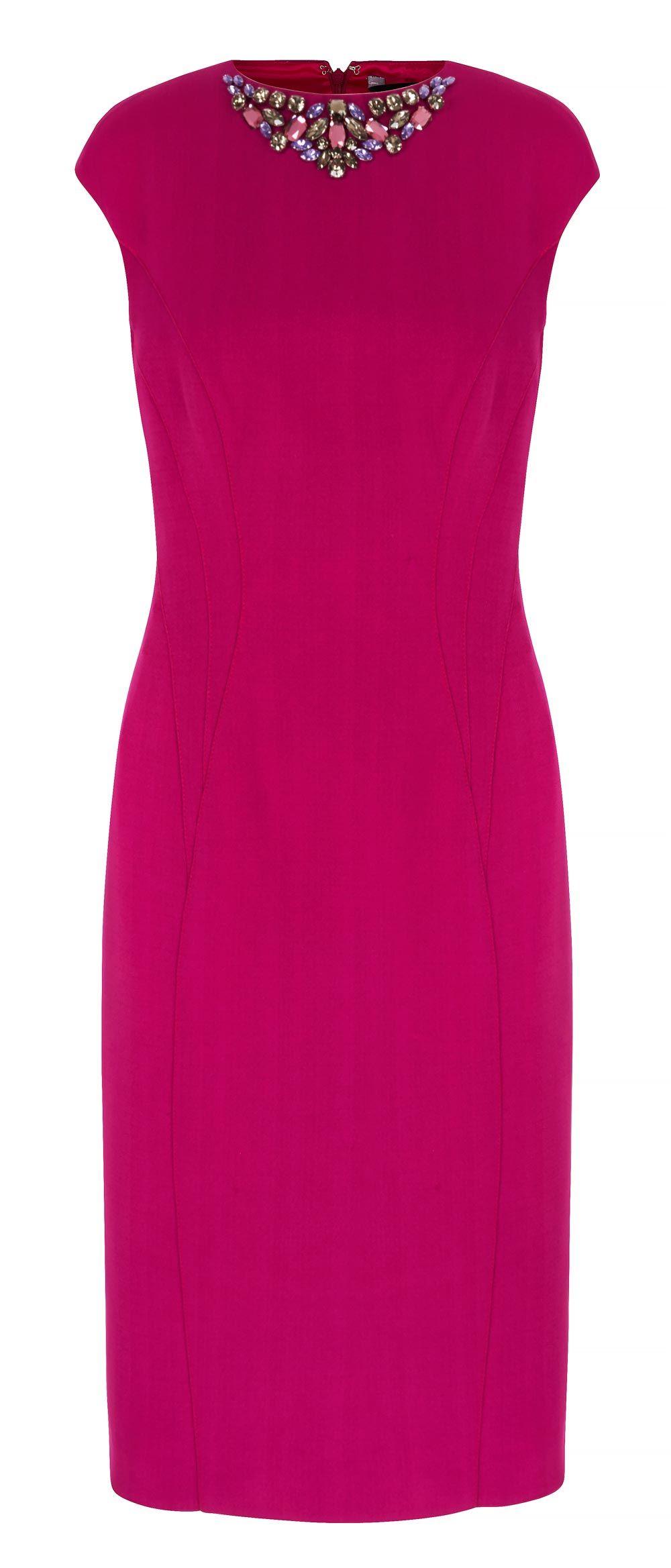 Bright pink dress for wedding guest   Summer Wedding Guest Dresses Our Top Picks  Платья  Pinterest
