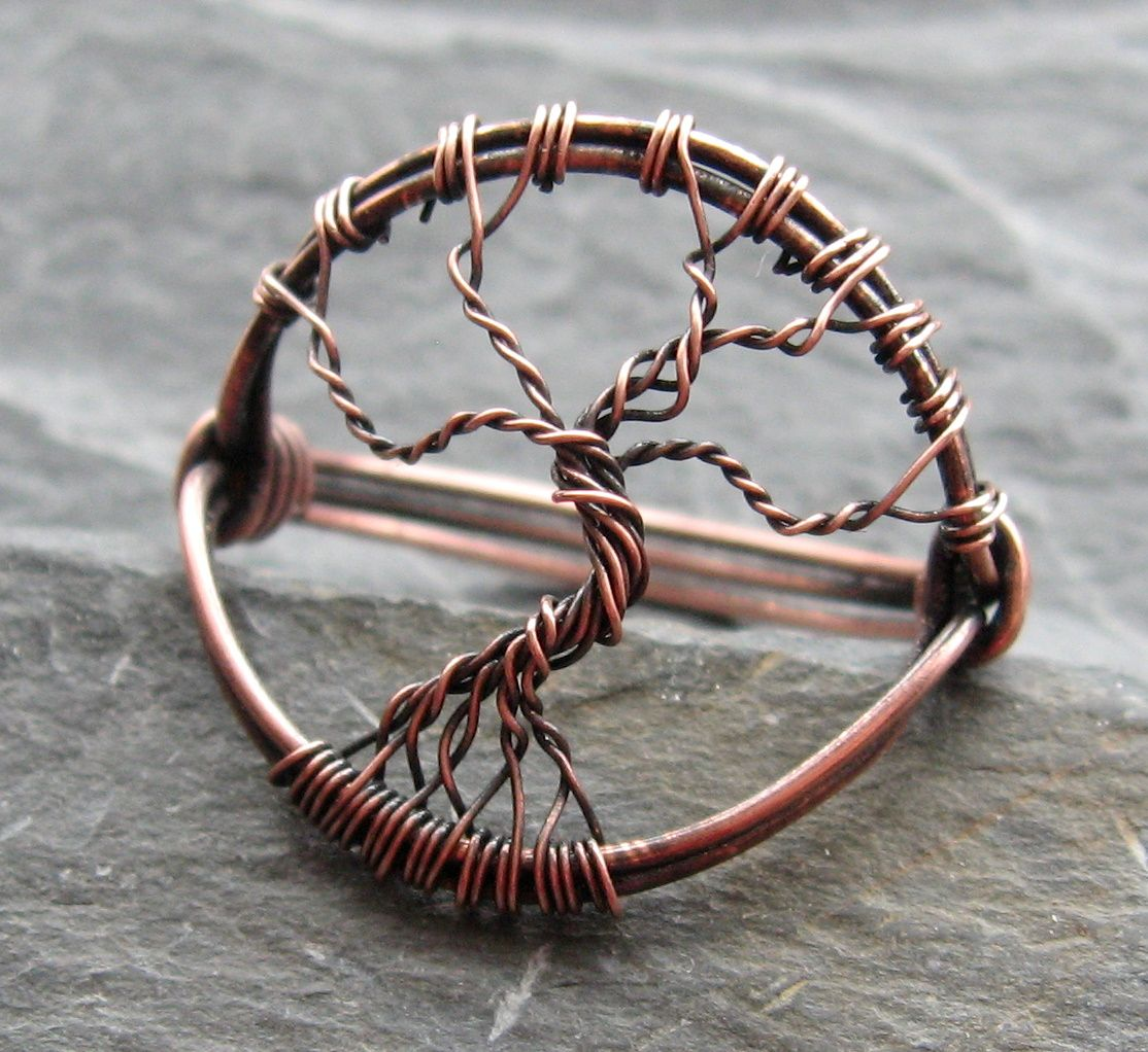 copper #tree of life #ring | Make this stuff | Pinterest | Jewelry ...