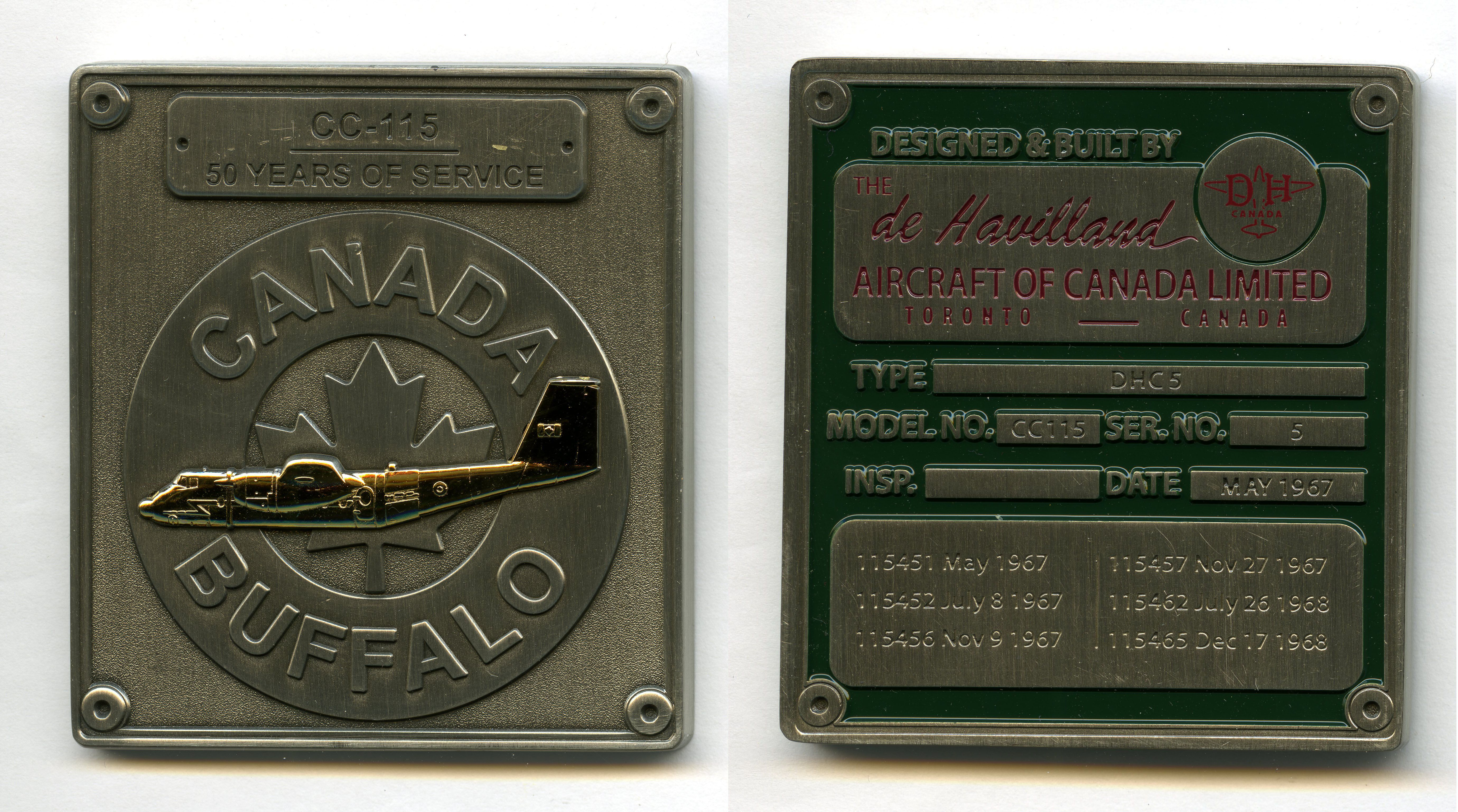 rcaf challenge coin