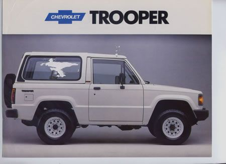 Chevrolet Trooper Chevrolet Pinterest Chevrolet Cars And