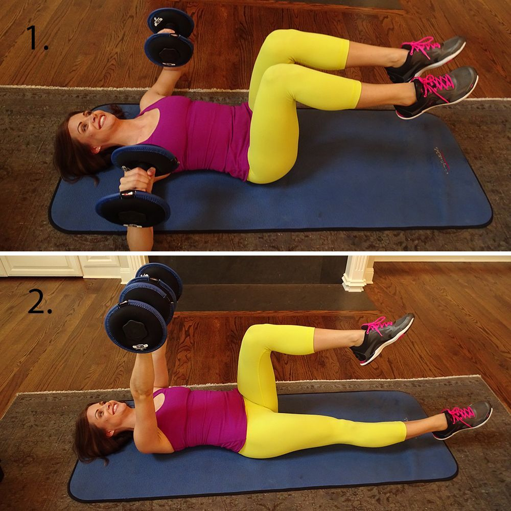 Alternating Dumbbell Curl is a great biceps exercise to