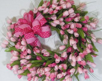 Grapevine Wreath Spring Wreath Front Door от MarthaSueDesigns