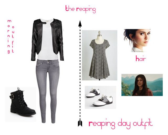 """""""The reaping"""" by teenwolfgirl-832 ❤ liked on Polyvore featuring Pinup Couture, H&M, Cotton Citizen, Boohoo, women's clothing, women's fashion, women, female, woman and misses"""