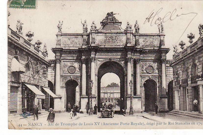 Nancy.. Arc de Triomphe de Louis XV