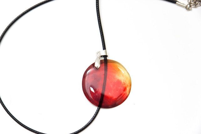 Mars necklace, waxen cord. In free gift box £9.00