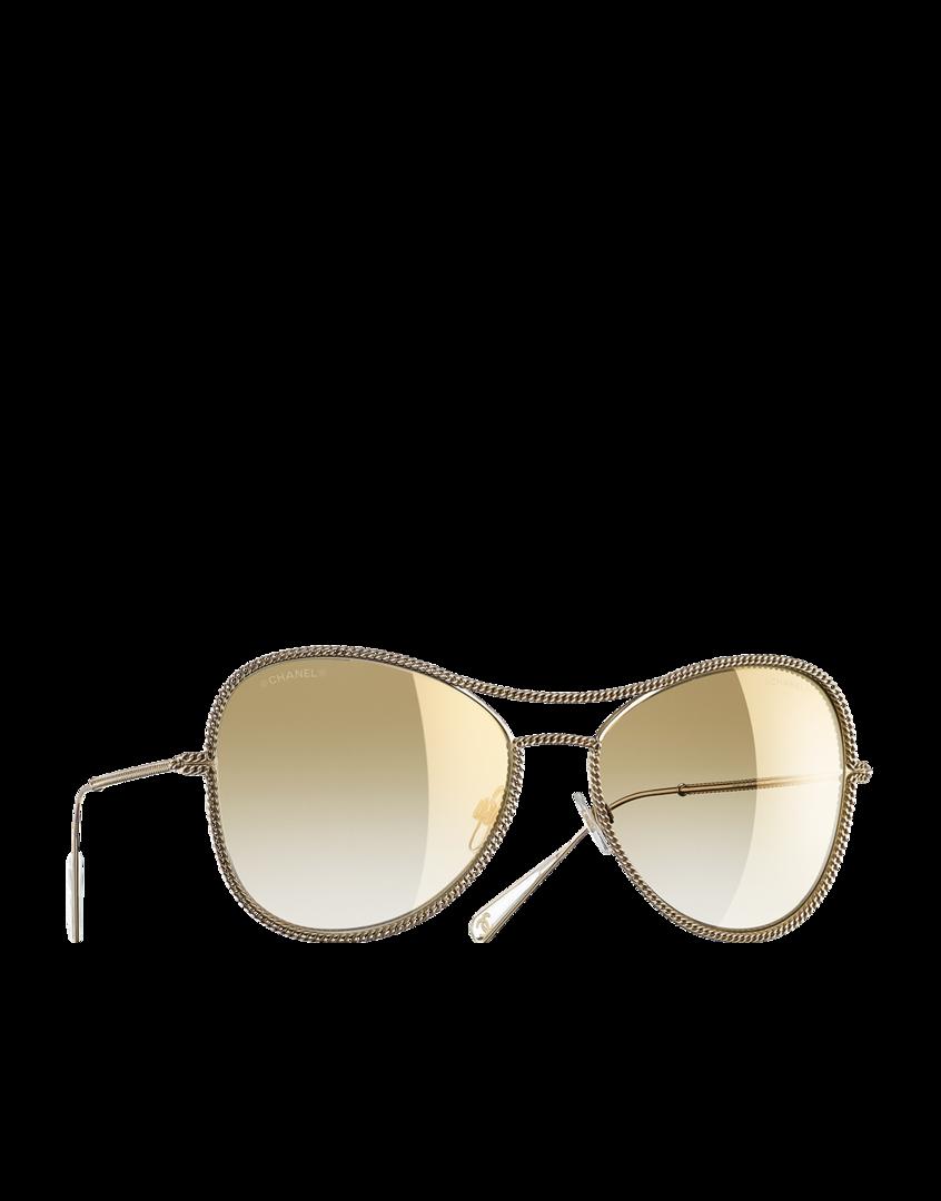 3b6a2b427 Gafas de sol con montura aviador... - CHANEL | SunGlasses ...
