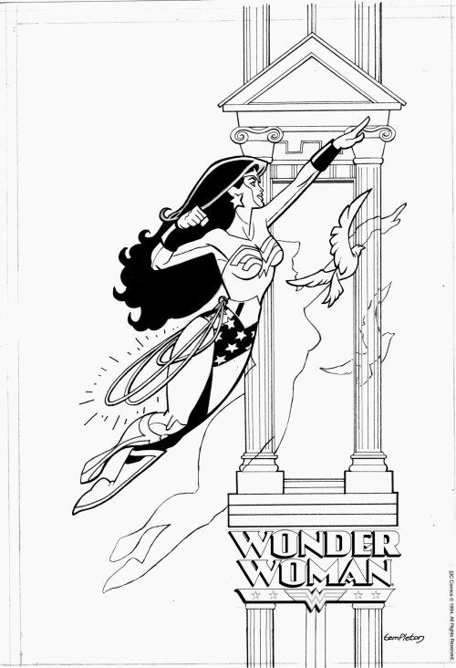 NEW PAGES FOR SALE. SKUNKS AND WONDER WOMEN | Cuadro