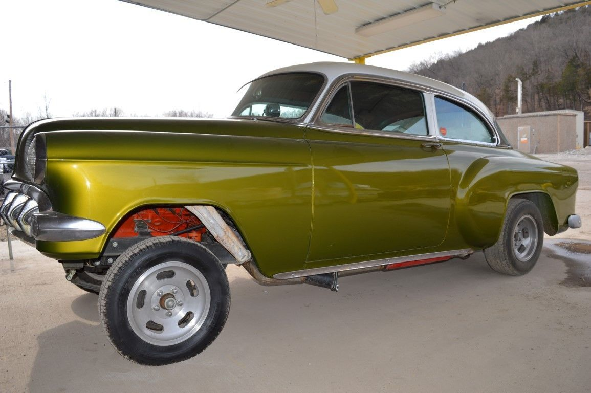 1954 chevy bel air gasser hot rot project for sale
