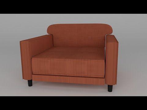 Blender 2.71 Tutorial - Lounge Chair - YouTube