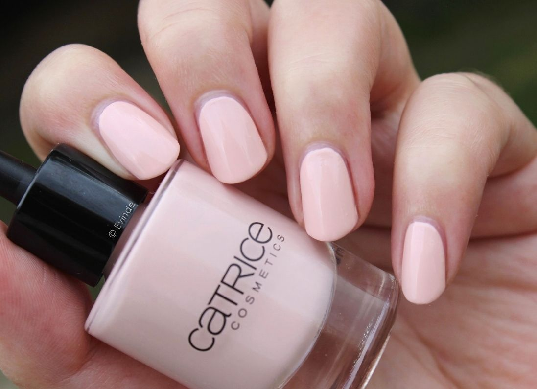 Catrice Sheer Silence Nail Polish Zensibility Collection Opaque Pale Pink Alert Very Pretty For Weddings