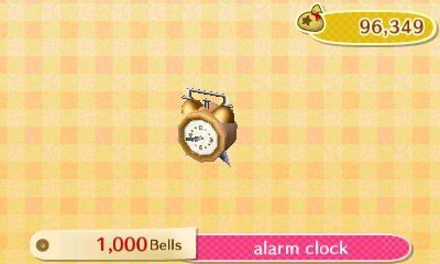 Animal Crossing New Leaf Alarm Clock Animal Crossing Character