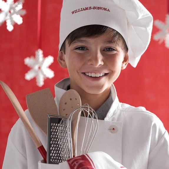 19db9ce37ce Williams Sonoma Junior Chef Jacket