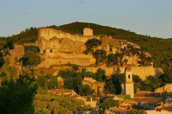 Boulbon. Village in Provence, France