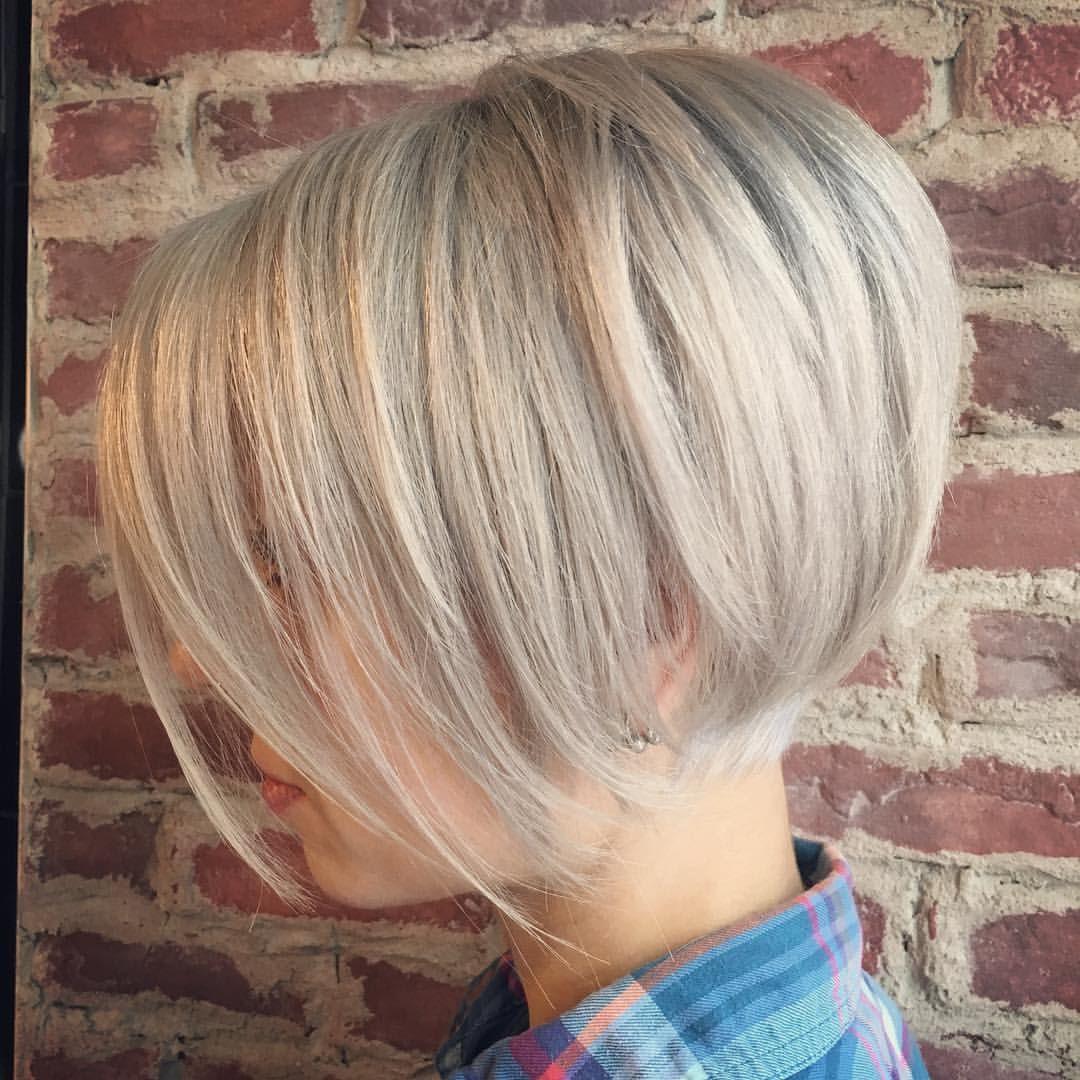 Pale Blondes Are My Fav Texturstudio Texturedhair Bobhaircut