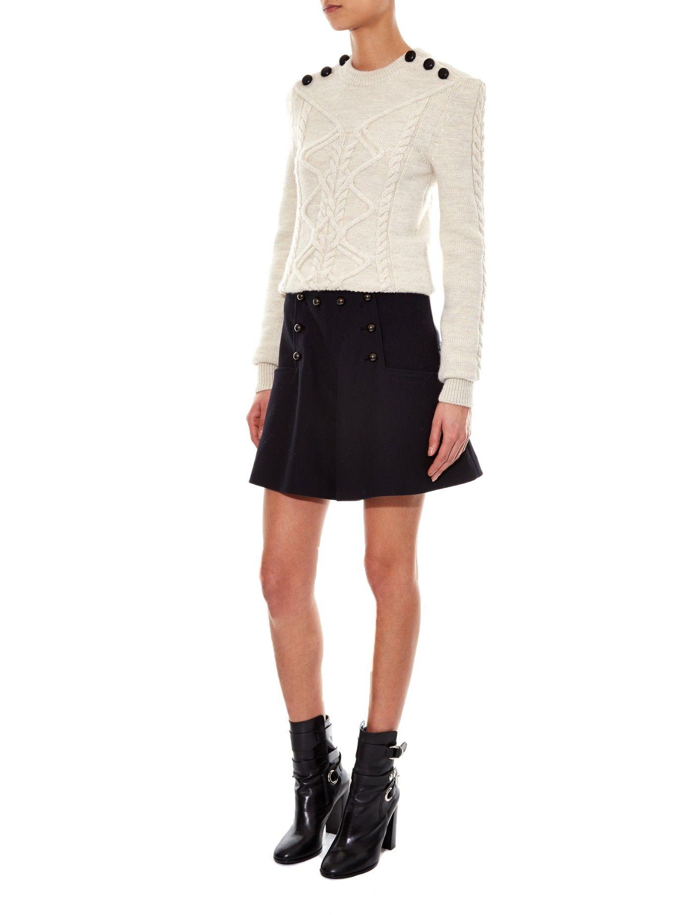 Dustin cable-knit sweater | Isabel Marant | MATCHESFASHION.COM UK