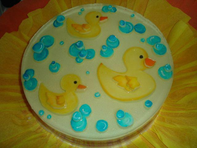 Baby Shower Cakes Katy Tx ~ Gelatina patos duck gelatin vilma reyes  katy tx s