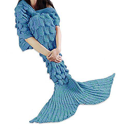 Pink Blanket-Mermaids Tail schwanz data-mtsrclang=en-US href=# onclick=return false; show original title Details about  /Warm