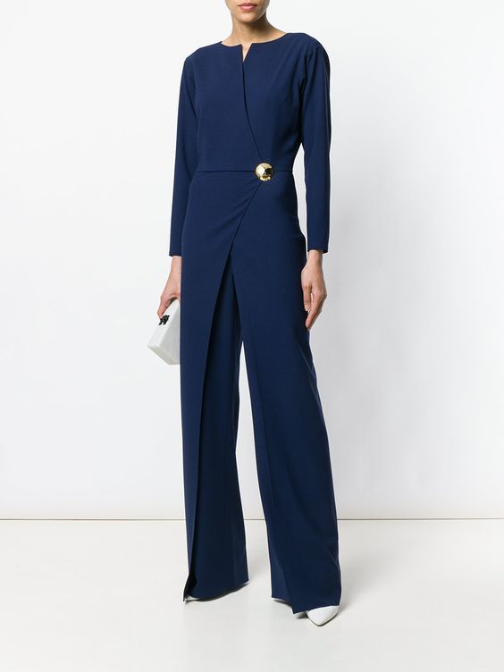 Ralph Lauren Collection Pin Detail Jumpsuit Hosenanzüge