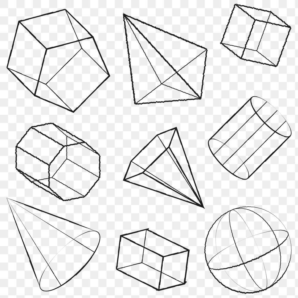 3d Geometric Shape Design Element Set Free Image By Rawpixel Com Aew In 2021 3d Geometric Shapes Geometric Shapes Design Geometric Shapes