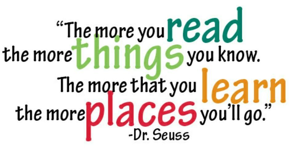 #ReadAcrossAmerica #NeaReads #DrSeuss Read with a child today!