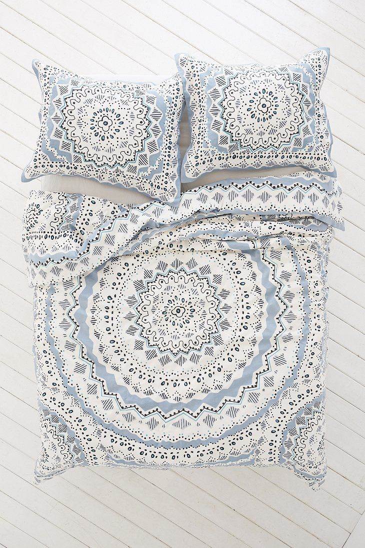 Plum Amp Bow Mia Medallion Duvet Cover Urban Outfitters