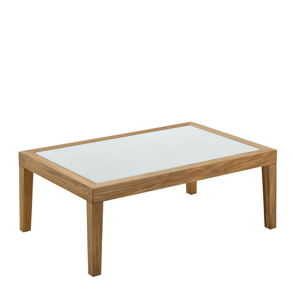 Solo Coffee Table w/Glass Top