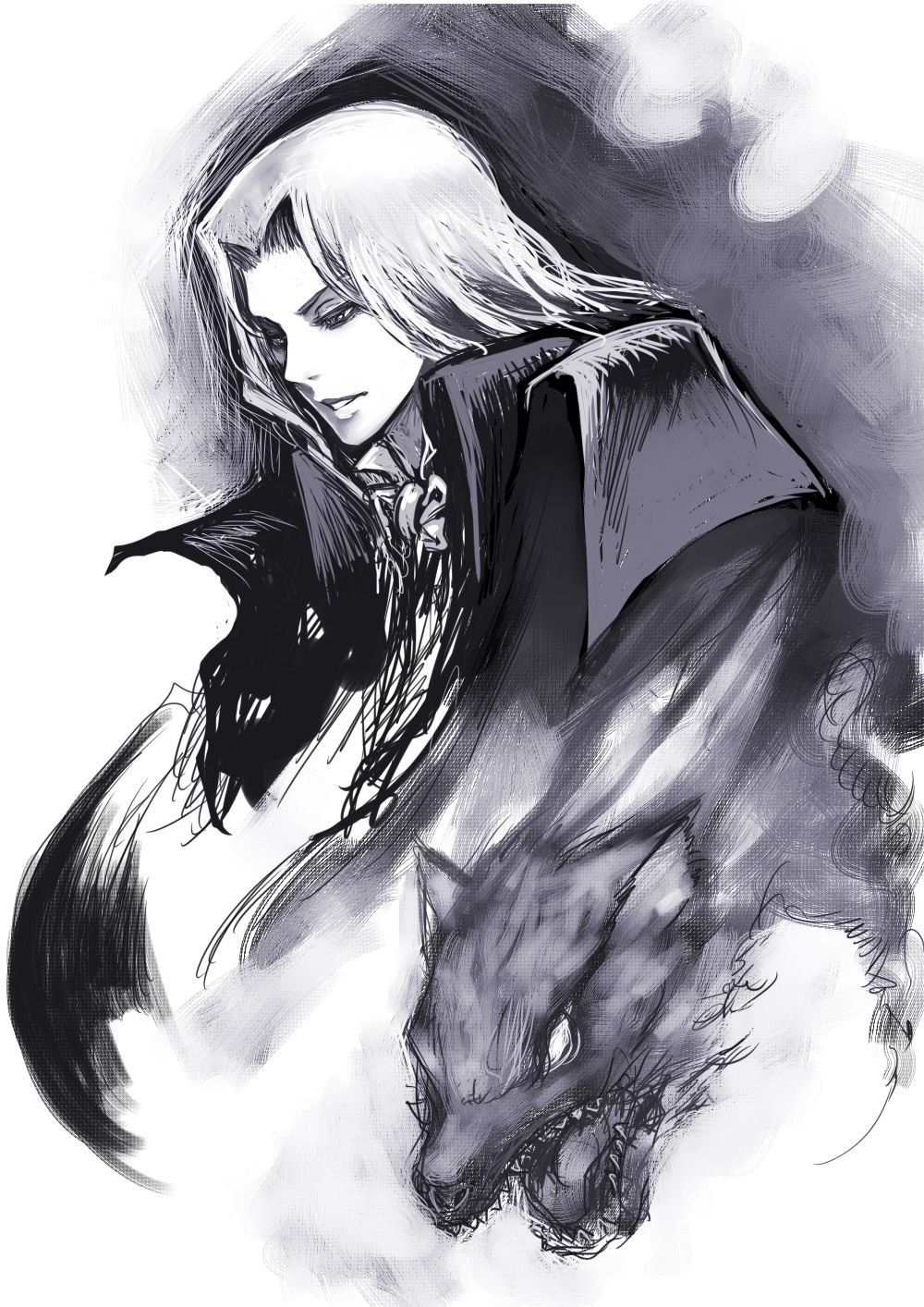 Pin by Dr4g0nM0th3r on castlevania baies in 2020 Alucard