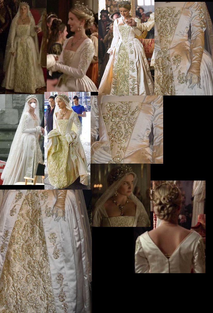 Jane Seymour (Tudors) Wedding Gown | Колевский стиль | Pinterest ...