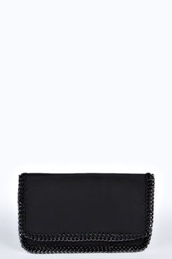 Anya Chain Detail Clutch Bag at boohoo.com  Clutch