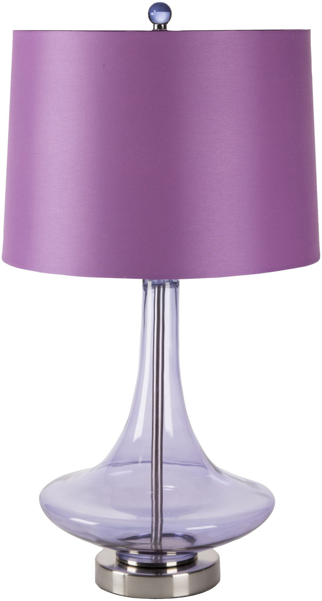 "Amber 14"" H Table Lamp with Empire Shade"