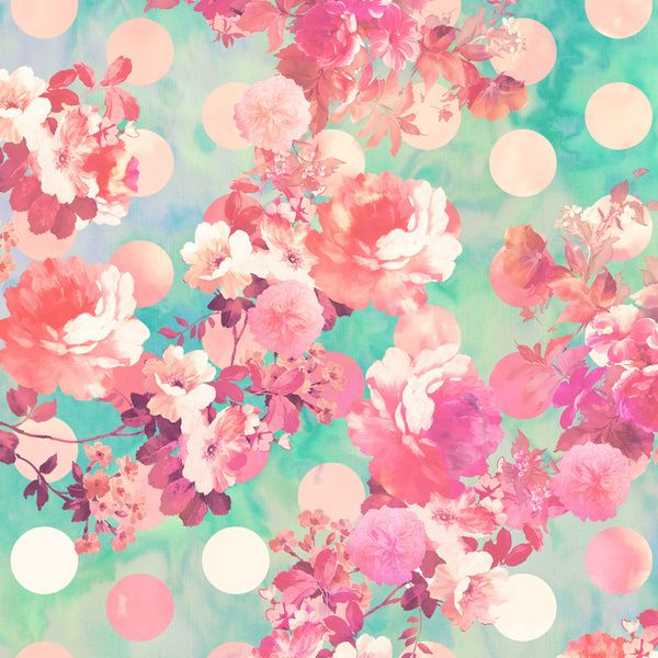 pink flower wallpaper pattern - photo #23