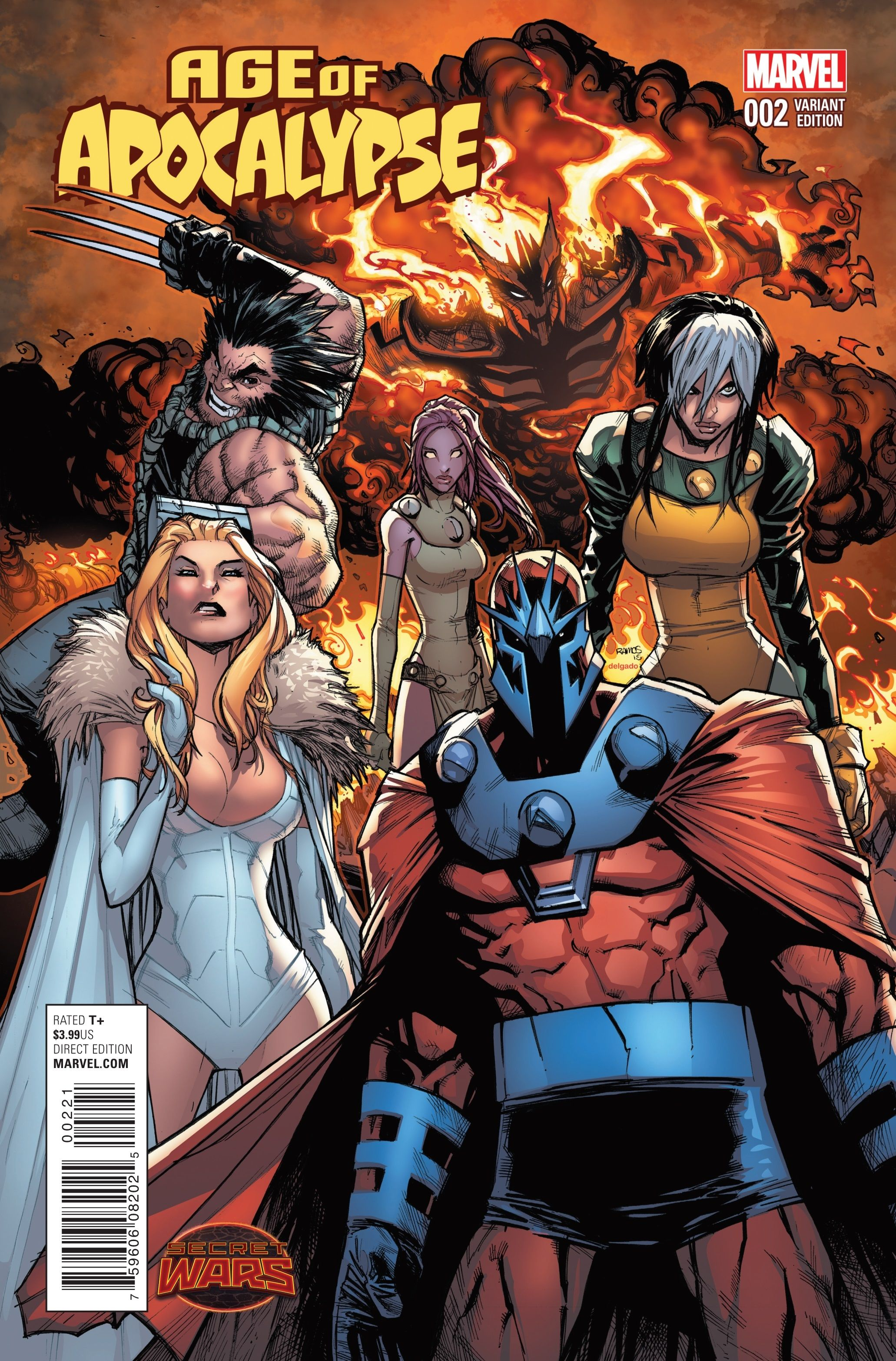 Preview: Age of Apocalypse #2, Age of Apocalypse #2 Story: Fabian