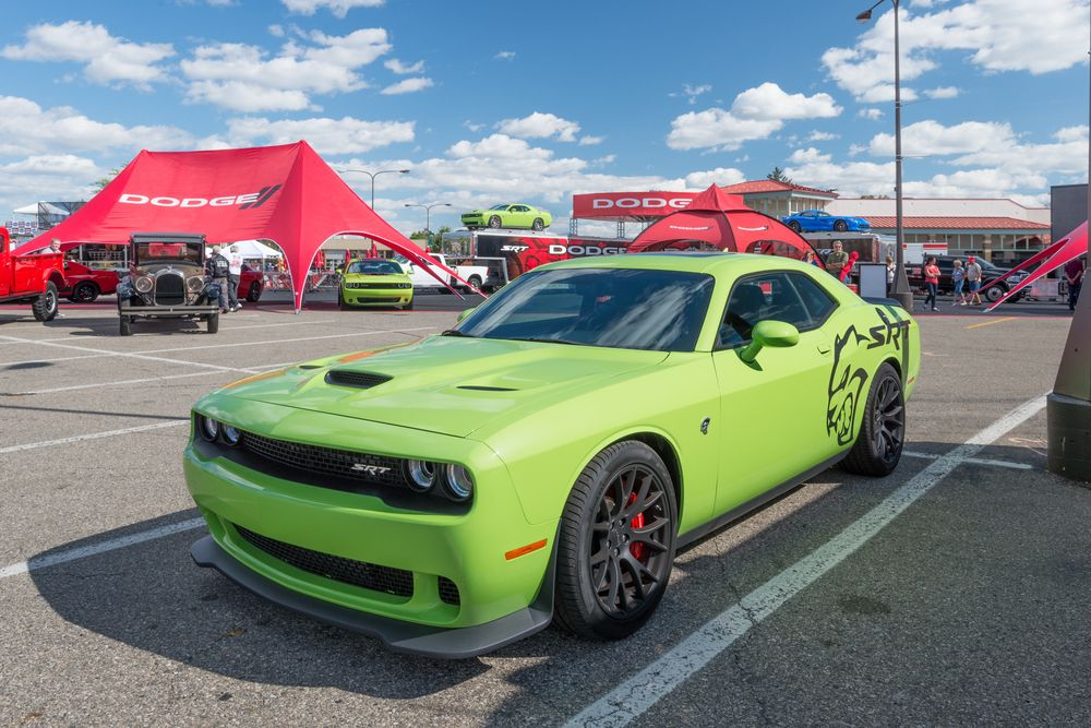 Just How Fast Could A Roadster Go On Mars Challenger Srt Dodge Challenger Srt Hellcat Challenger Srt Hellcat
