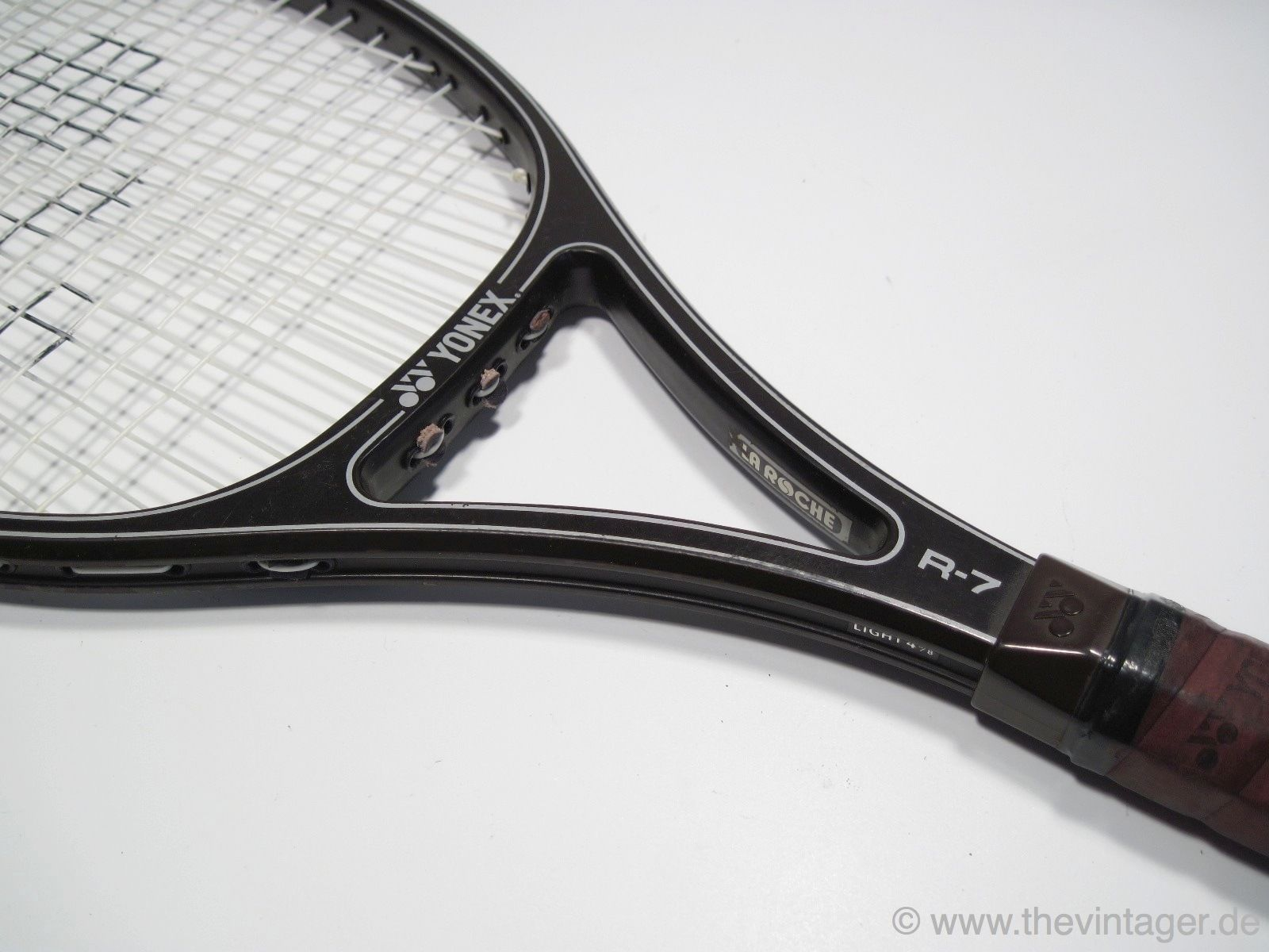 Vtg 80s Yonex R 7 Rexking Racket Martina Navratilova R Garros Wimbledon 22 27 Martina Navratilova Rackets Yonex