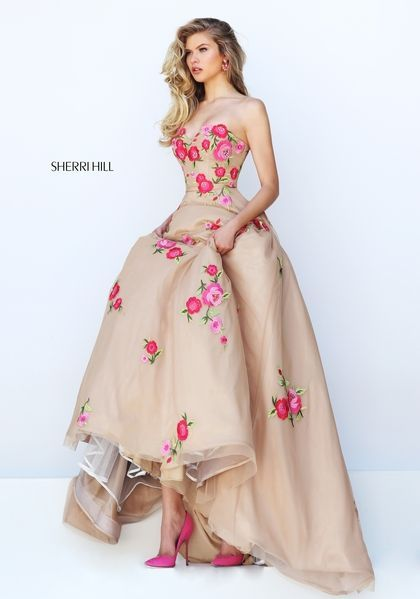 sherri hill 50203 | vestidos en 2019 | prom dresses, sherri hill