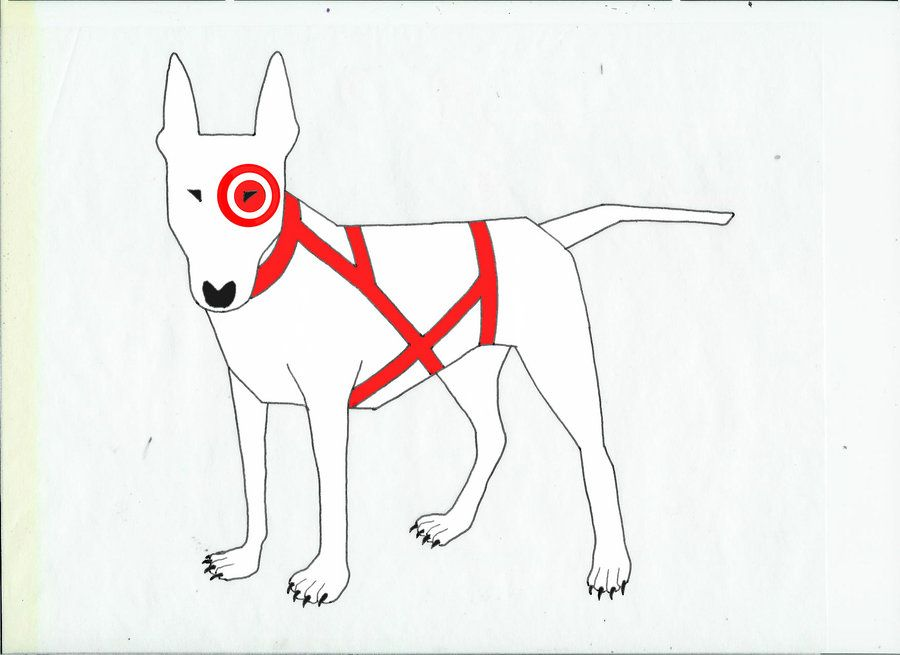 Pin By All Things Famous Internet Dogs On Bullseye The Target Dog