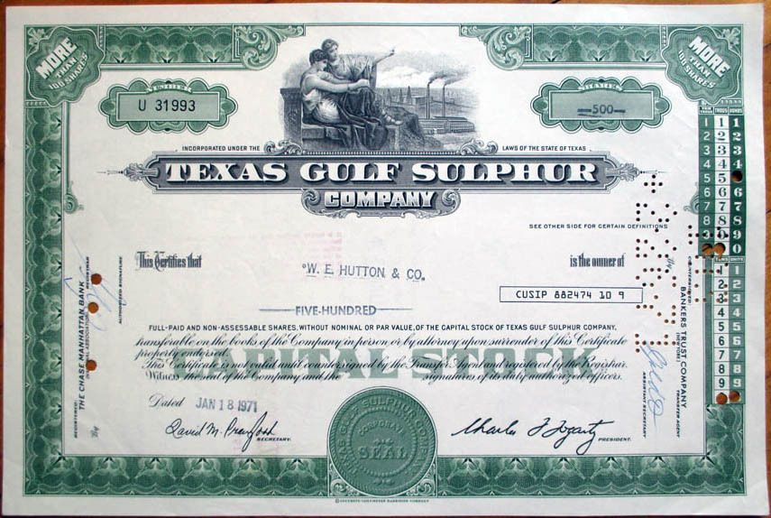 Samuel Adams \/ The Boston Beer Company - share certificate - company share certificates